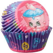 Shopkins 50 Baking Cups Party Cupcakes Liners Wilton