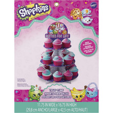 Shopkins Cupcake Treat Stand Holds 24 Cupcakes Wilton