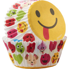 Emoji Treatoji 50 Baking Cups Party Cupcakes Liners Wilton