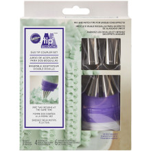Duo Tip Coupler Set Tip2 Wilton Decorating Coupler, Tips, and Bags