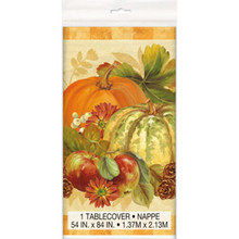 Pumpkin Harvest 54 x 84 Tablecover  Fall Thanksgiving Party