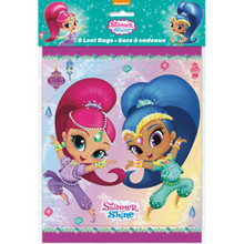 Shimmer and Shine Loot Favor Bags 8 Ct Birthday Party Unique