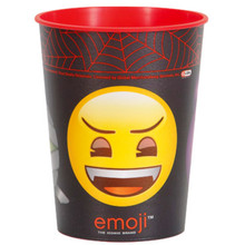 Emoji Halloween Monster Plastic 16 oz Favor Cup