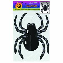 """Glitter Spider Hanging Halloween Decoration 14"""""""