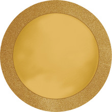 "Gold Glitz Glittering PlaceMat 14"" Place Mat 8 Ct"