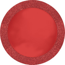 "Red Glitz Glittering PlaceMat 14"" Place Mat 8 Ct"