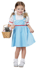 Dorothy of Oz Halloween Costume Toddler 3-4