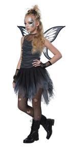 Mystical Fairy Halloween Costume Girl Child L 10-12  Black