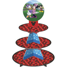 Mickey Mouse Roadster Treat Stand 25 Cupcake Holder Centerpiece Wilton