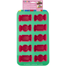 Dylans Candy Bar Wrapped Candy 10 Cavity Silicone Mold