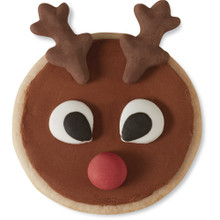 Rudolph Red Nosed Reindeer 12 Cupcake Treat Decorating Kit Wilton