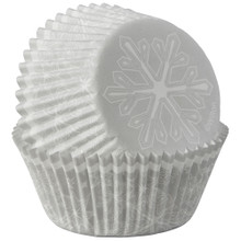 Snowflake 75 Ct  Baking Cups Cupcake Liners Wilton