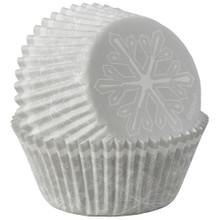 Snowflake 75 Ct  Baking Cups Cupcake Liners Wilton