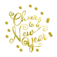 Cheers To A New Year! Coasters 18 per Package