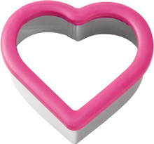 Heart Pink Comfort Grip Cookie Cutter Wilton