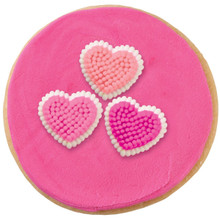 Mini Hearts Dot Matrix Icing Decorations 81 Ct Wilton Valentines Day