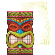 Tiki Time Postcard Invitations 25 ct Summer Pool Party Luau