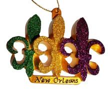 Fleur De Lis New Orleans Ornament Mardi Gras Party Favors