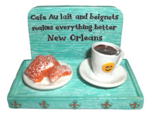 Coffee and Beignets Magnet Party Favor New Orleans