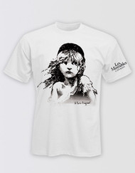 Les Miserables White T-Shirt Unisex