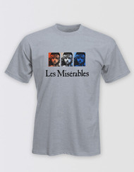 Les Miserables Grey T-Shirt Unisex