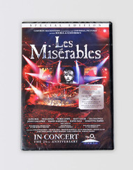 Les Miserables 25th Anniversary In Concert DVD
