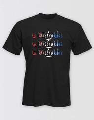 Les Miserables Black Title T-Shirt