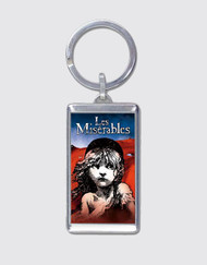 Les Miserables Flag Keyring