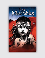 Les Miserables Flag Magnet
