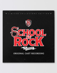 SCHOOL OF ROCK Broadway Cast Recording Vinyl Record