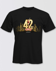 42nd Street Unisex London Logo T-Shirt