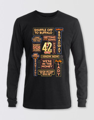 42nd Street Unisex Song Marquee T-Shirt