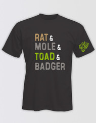 The Wind in the Willows 'Rat & Mole & Toad & Badger' Kids T-Shirt