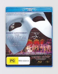 The Phantom of the Opera at the Royal Albert Hall Blu-ray Disc