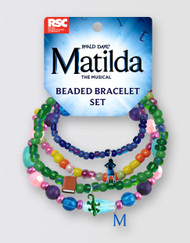 Matilda The Musical  Beaded Bracelet Set
