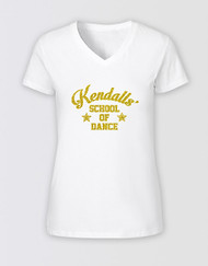 Strictly Ballroom Kendalls' Dance T-Shirt - White