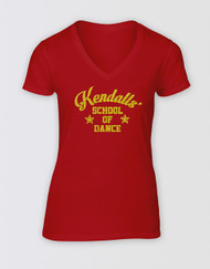 Strictly Ballroom Kendalls' Dance T-Shirt - Red