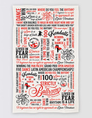 Strictly Ballroom Tea Towel