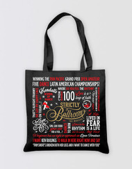 Strictly Ballroom Tote Bag