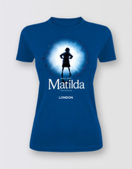 Matilda The Musical LONDON Graphic Logo T-Shirt - Fitted