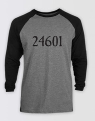 Les Miserables 24601 Baseball T-Shirt Unisex