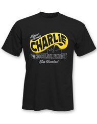 Charlie and the Chocolate Factory Black Logo Tee Unisex