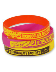 Charlie and the Chocolate Factory Kids Wristband (Set of 3)