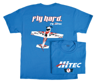 FLY HARD HITEC T-SHIRT LARGE