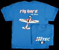 FLY HARD HITEC T-SHIRT LARGE