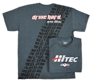 DRIVE HARD HITEC T-SHIRT LARGE