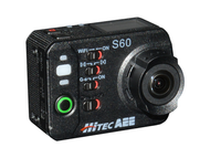 Hitec / AEE S60 Action Camera - Includes Waterproof Case and Mounting Accessories