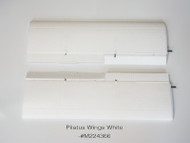 PILATUS PC-6 WINGS - WHITE