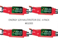 ENERGY 12R MULTIROTOR ESC (4 PACK)