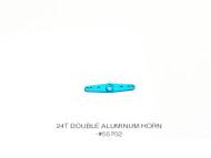 24T DOUBLE ALUMINUM HORN